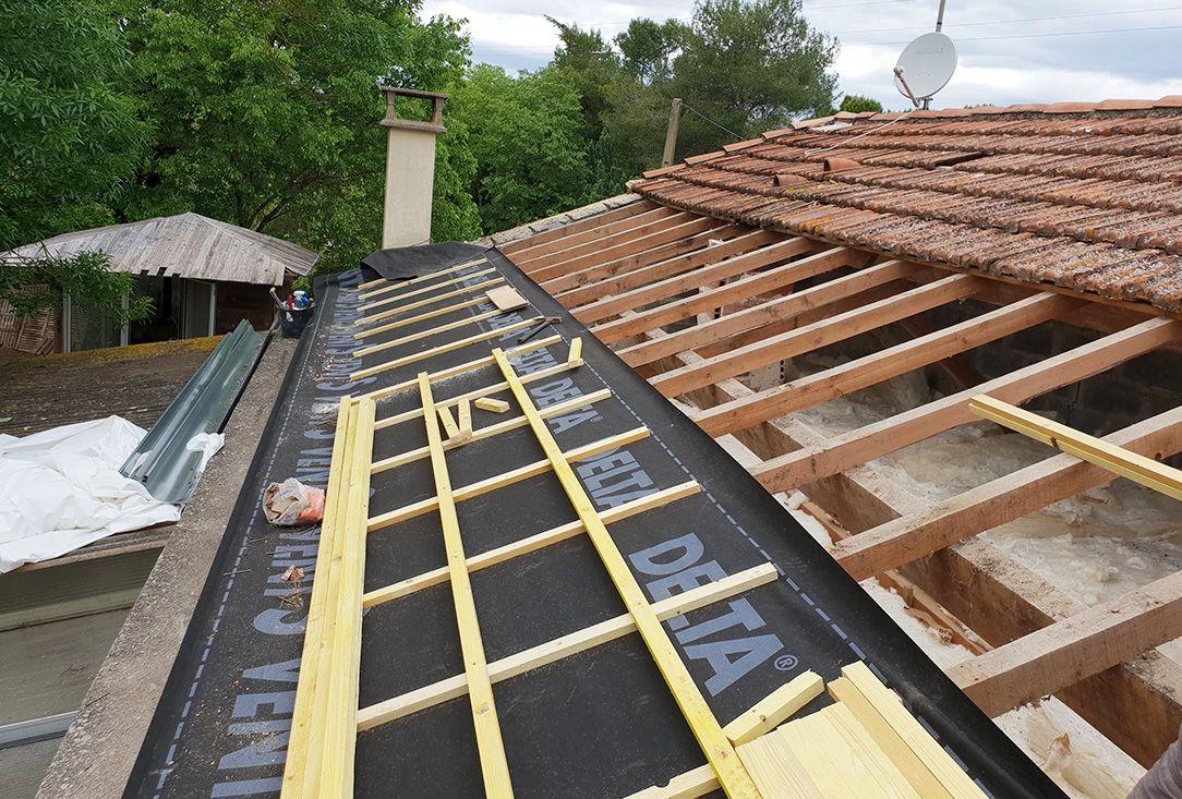 Rénovation toiture tuile canal à Marseille | Au fil des toits